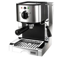 Espressomaschine Flavour, chromfarben