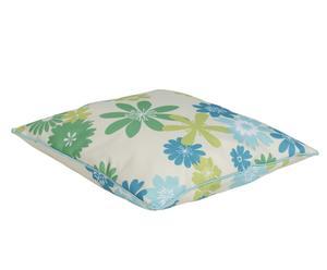 Cuscino in poliestere Capri verde - 47x47 cm