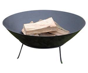 Braciere in metallo Pitigliano - 64x28 cm