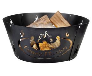 Anello per braciere in ghisa Burnley  nero - h 26/d 60 cm