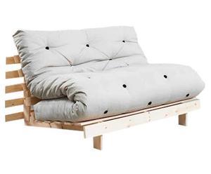 Divano/futon multifunzionale Roots Natural beige - 140X73X65 cm