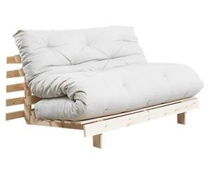 Divano/futon multifunzionale Roots Natural lino - 140X73X65 cm