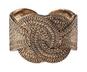 bracciale rifinito in oro Knot