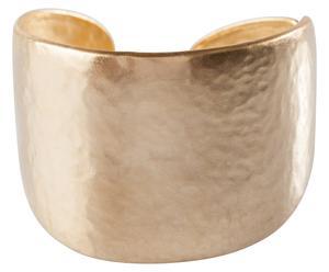 bracciale in metallo placcato oro effetto martellato Sophie