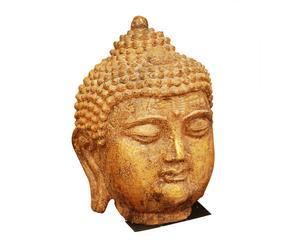 Testa decorativa in pietra BUDDHA - 33x23x20 cm