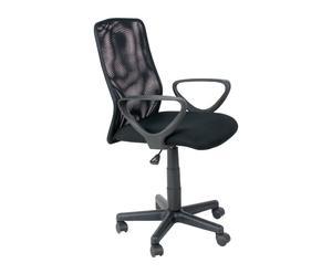 Sedia in metallo con rotelle Monaco - 101x88x57 cm