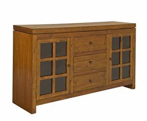 Credenza in legno Urban a 2 ante e 3 cassetti