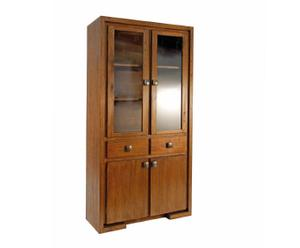 armadio in acacia miele pascal - 100x180x38 cm