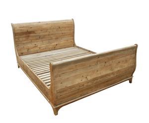 Struttura letto in legno - 110x167x222 cm
