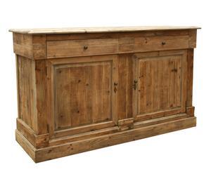 Buffet in legno a 2 cassetti e 2 ante - 98x166x56 cm