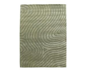 tappeto in lana verde atacama dune - 240x170 cm
