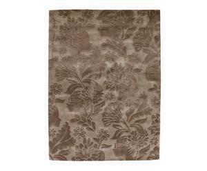 tappeto in lana marrone damasco Fall - 240x170 cm