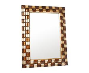 Specchio con cornice in legno e resina Dame - 88x118 cm