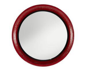 Specchio da parete in ferro Vintage - D59 cm