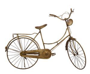 Bicicletta in metallo anticato - 115X165X57 cm