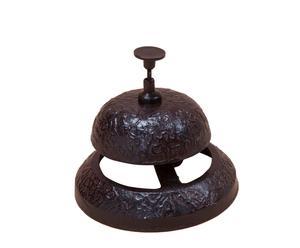 Campanello decorativo in ferro Trilly - 11x10x11 cm