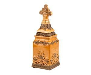 Giara decorativa in porcellana Chiang - 11x34x11 cm