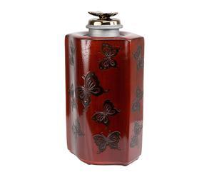 Giara decorativa in porcellana Ming - 21x50x20 cm