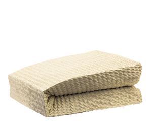 copridivano 3 posti in cotone e poliestere Multiadaptable beige - 180-220 cm