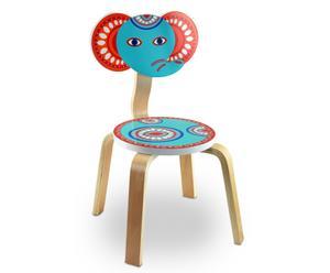 Sedia per bambini in legno Himar - 34x9x28 cm