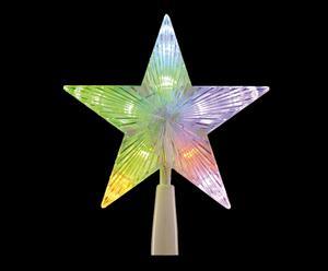 Stella di Natale in plastica e LED CIMIER - D 20 cm