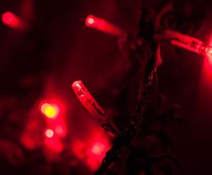 Luminaria in plastica e LED FLEURS - 1,8 m