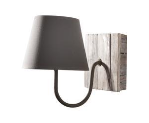 Lampada da parete in legno Style - H 22 cm