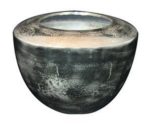 Vaso centrotavola in alluminio Round - 23X32 cm