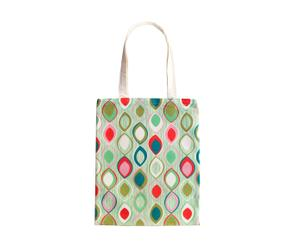 borsa shopper Vintage paon - multicolor
