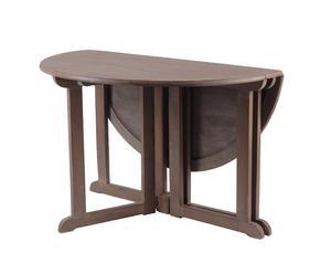 Tavolo da pranzo rotondo in legno di mango Uba - 120x76 cm