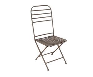 Sedia in ferro Garden - 50x43x97 cm