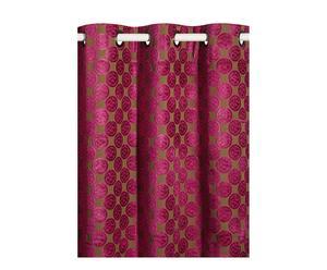 Tenda con asole per il bastone Blueberry - 140x280 cm