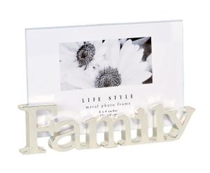 portafoto decorativo da tavolo family - 10x15 cm