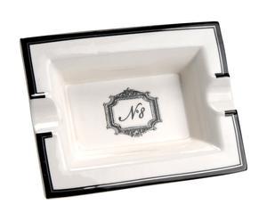 posacenere in porcellana n. 8 - 15x11x3 cm