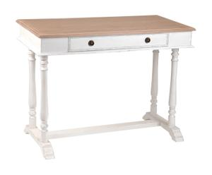 scrivania in bayur Damien - 100x50x75 cm