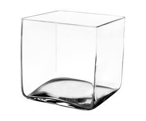 Vaso in vetro SQUARE - 15x15x15 cm
