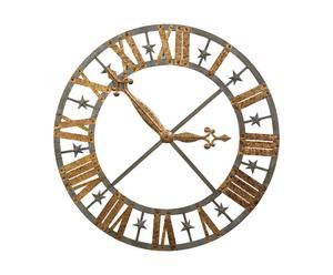 orologio da parete in metallo orsay - d 110 cm