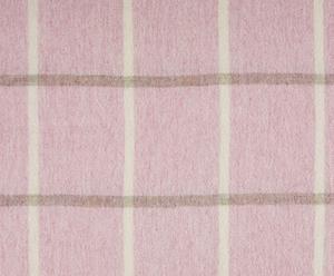 coperta in pura lana vergine shetland Rosa Bruyère - 140x185 cm