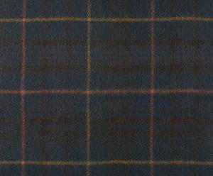 coperta in pura lana vergine Steward tartan verde - 140x180 cm