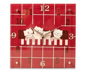 orologio da parete little cats - 30x30x5 cm