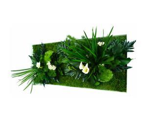 composizione vegetale da tavolo/parete rectangle - 60x30 cm