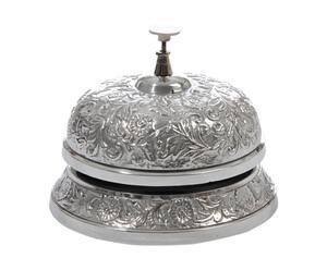 campanello decorativo in alluminio flower - 14x11 cm