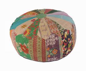 pouf in cotone Florencia - d 61/H 31 cm