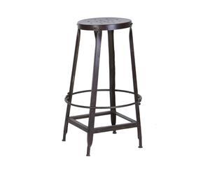 American craft stile legno ferro battuto bar tavolo e sedia
