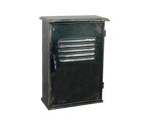 Cassetta portachiavi da parete in metallo Keys - 11x22x32 cm