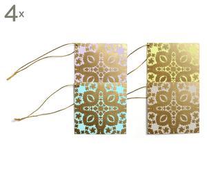 Set di 16 etichette per regali Accrocher - 8x8 cm
