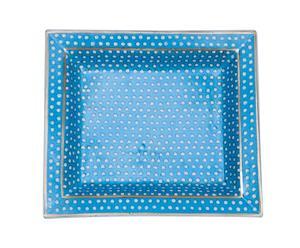 Posacenere in porcellana Magia - 19x16x4 cm