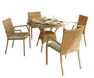 set da pranzo MARRIOT (sedie + tavolo)