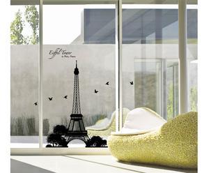 Sticker da parete Eiffel Tower - H110 x L70 cm