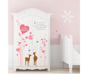 Sticker da parete Deers -  da 35 cm a 100 cm
